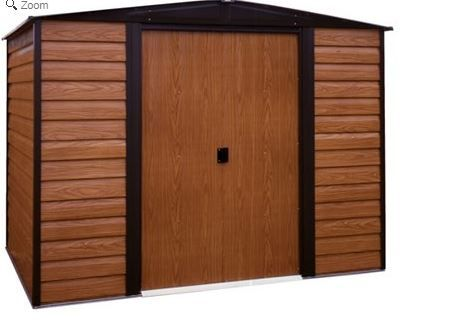 Arrow Euro Dallas Woodridge 10 X8 Metal Shed Kits Metal Shed Shed Storage