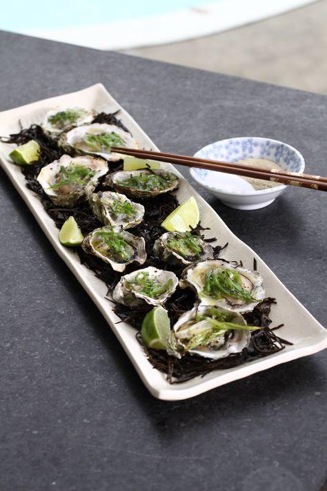 Huîtres grillées de Hanoï