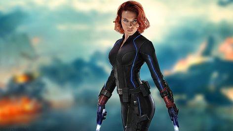 HD wallpaper: Marvel Black Widow, Scarlett Johansson, redhead, women, The Avengers