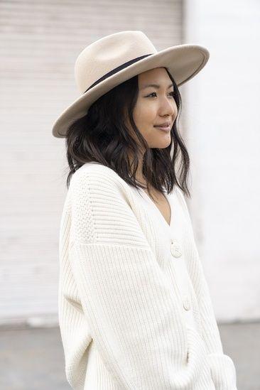 Tan wide brim hat #ShopStyle #MyShopStyle #Winter in 2019