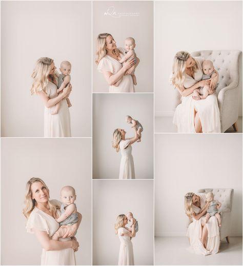Motherhood and Milestone Session in the Minneapolis Studio mQn Photography