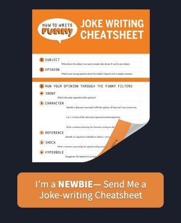 How To Write A Joke Jokes Funny Filters Writing