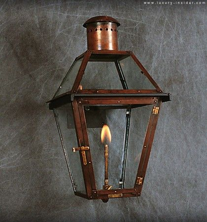 Bevolo French Quarter Gas Lantern A Hays Town Bevolo Gas Lanterns Luxurious Backyard