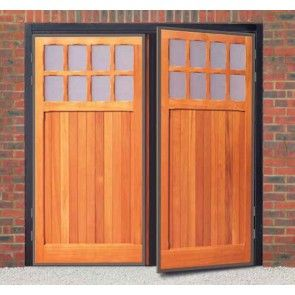 Cardale Futura Bedford Timber Side Hinged Garage Door - Side ...
