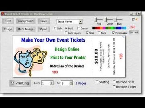 ticket creator online free akba greenw co