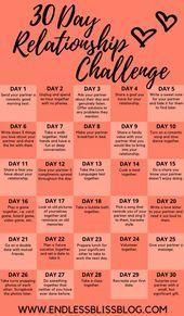 30 Tage Beziehungsherausforderung