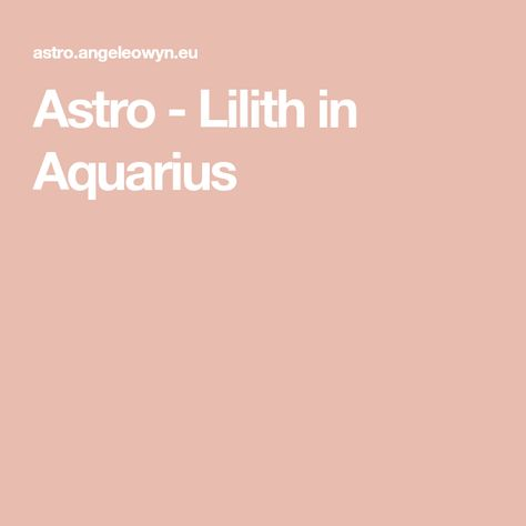 List of Pinterest tilith moon astrology images & tilith moon