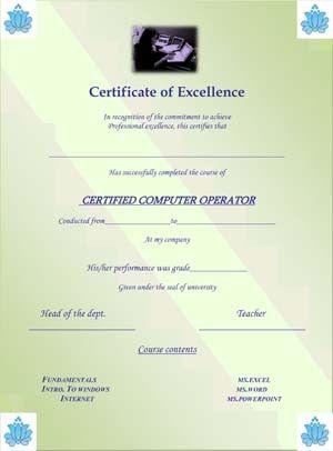 Equipment Operator Certification Card Template Card Template Templates Wedding Info Card