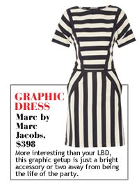 MARC by MARC JACOBS:  Resort Black & White Striped Pieces | The Zoe Report