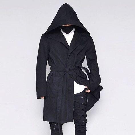 like4like Ovetsize Hood Belted Jacket...