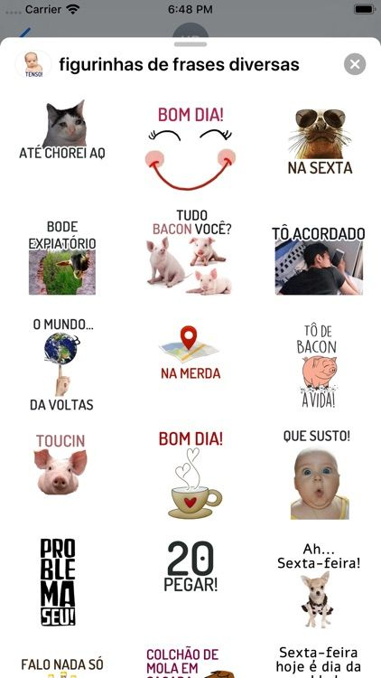 Figurinhas De Frases Diversas By Yassine Ouchlah In 2020 Snoopy Love Good Apps To Download Memes