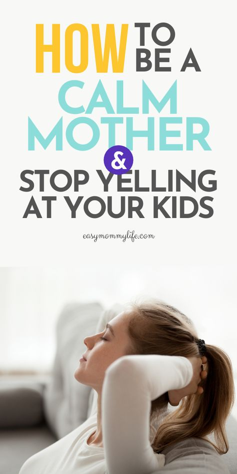How To Be A Calm Parent : Gentle Parenting Tips
