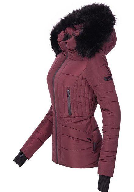 Navahoo Adele Ladies Winter Jacket with Black Faux Fur Hood