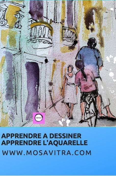 Apprendre Les Techniques De L Aquarelle Et De Illustration En 2020