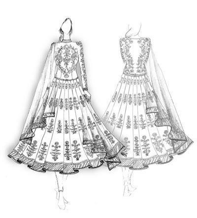90 Best Indian Wear Sketches Images Fashion Dress Sketches Fashion Illustration