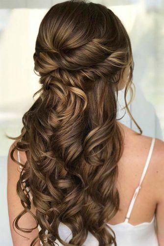 68 Stunning Prom Hairstyles For Long Hair For 2020 Long Hair Styles Wedding Hair Half Hair Styles