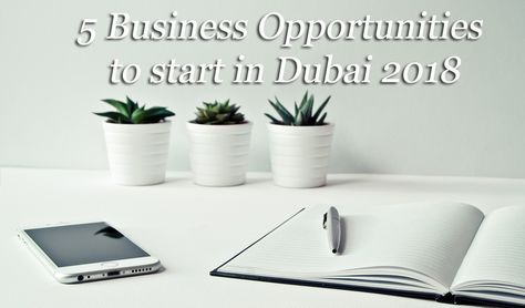 5 Serious #Business #Opportunities to #start in Dubai #2018 Here