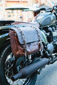 Triumph Bobber Saddlebags : triumph, bobber, saddlebags, Custom, Motorcycle, Saddlebags, Ideas, Triumph, Bonneville,, Saddlebags,