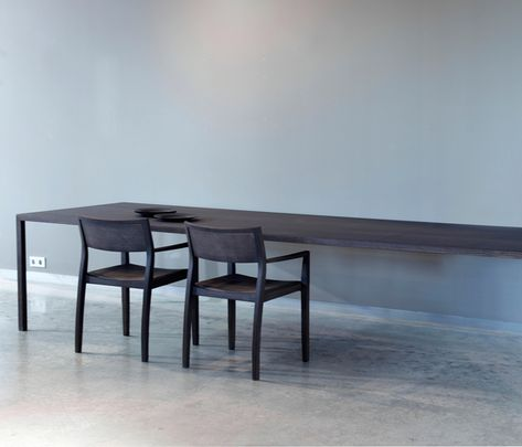 Dining tables Tables Slim Arco Bertjan Pot Check it out - design esstisch marmor tokujin yoshioka