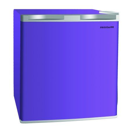 Frigidaire 1 6 Cu Ft Single Door Compact Refrigerator Efr115 Purple Walmart Com In 2020 Single Doors Mini Fridge Compact Refrigerator