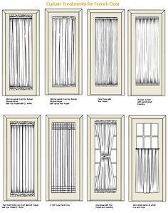 8 backdoor window coverings ideas