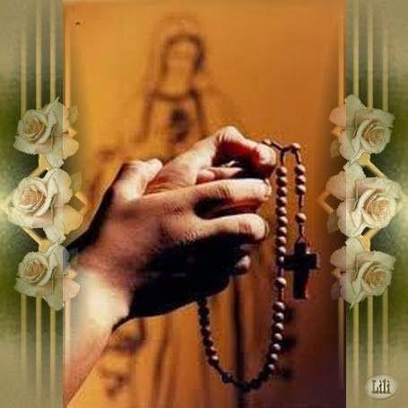 Gifs religiosos: Manos con santo Rosario   Rosarios, Santo rosario ...