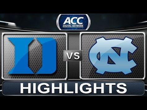 Duke vs North Carolina   2014 ACC Basketball Highlights