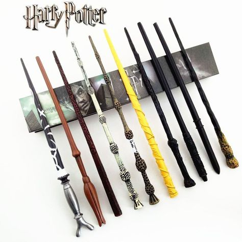Harry Potter Magic Wand w// Metal Core with Box Case