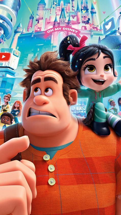 Ralph Breaks the Internet, Wreck it ralph 2, Vanellope Von, movie, 1080x1920 wallpaper