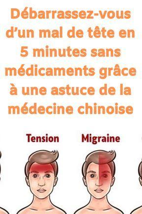 Debarrassez Vous D Un Mal De Tete En 5 Minutes Sans Medicaments Grace A Une Astuce De La Medecine Chinoise Avoir Mal A La Tete Et Special Massage Hijama Health