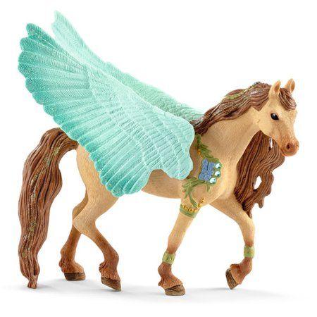 Schleich Decorated Unicorn Mare Figure Toy Figure 70573 New 2018 Bayala
