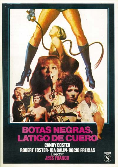 Botas Negras Látigo De Cuero 1983 De Jesús Franco Tt0085270 Botas Negras Peliculas Clasicas Látigos