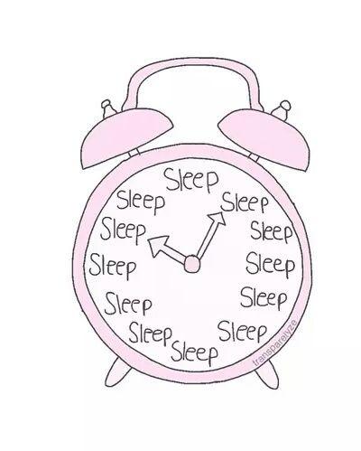 Sleep And Pink Afbeelding Clock Drawings Pink Clocks Tumblr