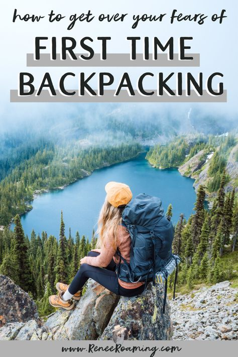 How To Get Over Your Fears of First Time Backcountry Camping Backpacking Tips, Hiking Tips, Camping And Hiking, Camping Gear, Backpacking Training, Camping Europe, Backpack Camping, Camping Essentials, Travel Backpack