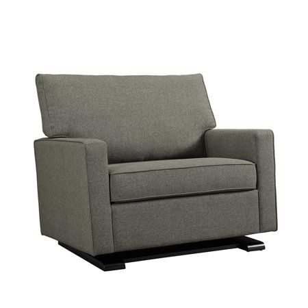 Baby Relax Coco Chair And A Half Glider Gray Walmart Com Chair And A Half Rocker Recliners Stylish Chairs