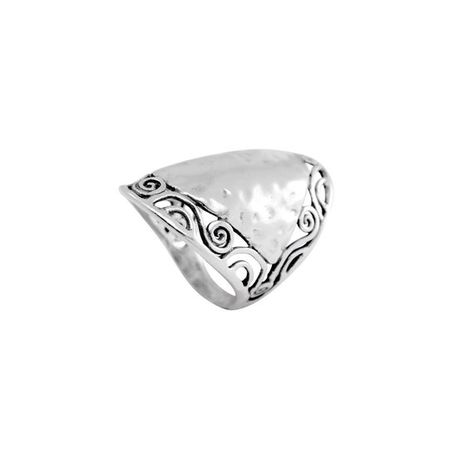 Elegant and unique sterling silver ring with spirals frame. Very beautiful and unique* Handcrafted and hand finished with Sterling Silver* Made in Israel* FREE- Comes packaged in a beautiful gift box! <3❉Measurements:******************Size 6, 7, 8,9, 10, 11❉Shipping:*************Please read our policies for information on international shipping, returns, and exchanges. If you need any additional help or have any questions at all use please feel free to contact us.Made-to-order: 5-7 business days