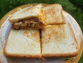 Resep Roti Panggang Kornet Telur Oleh Dilla Wahab Resep Resep Roti Makanan Dan Minuman Sarapan