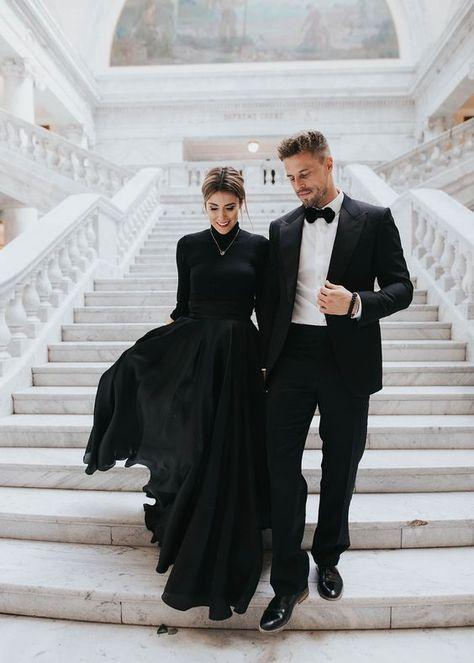 Black High Collar Prom Dresses,Fashion Prom Dress,Sexy Party Dress,Custom Made Evening Dress