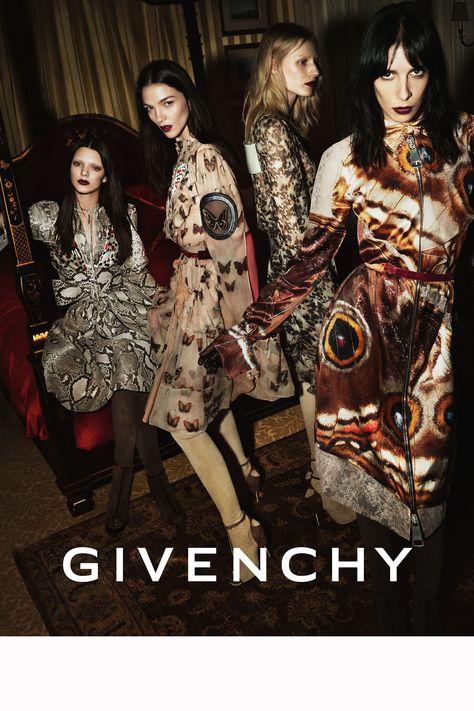 Givenchy Kendall Jenner, Julia Nobis, Jamie Bochart, Maria Carla Boscono Marcus Photographer: Mert Alas and Marcus Piggott
