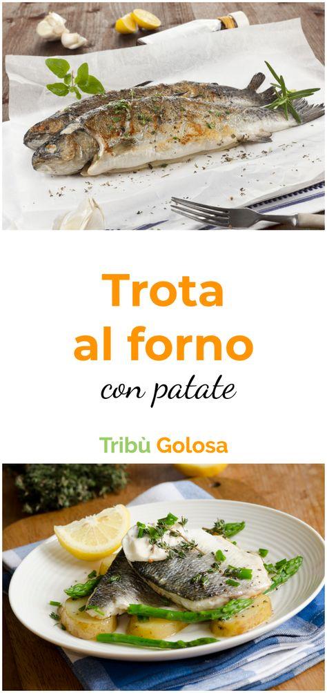 La #trotaalforno con #patate è una ricetta gustosissima. Avete mai provato la #trota al #forno con patate e pomodori o la trota al forno con patate e verdure ? Il tempo di cuttura della trota al forno è breve, ma se siete di fretta optate per i #filettiditrota  #tribugolosa #gourmettribe #golosiditalia #cucina #cucinaitaliana #cucinare #italianrecipes #food #italianfood #foodstyling #yummy #foodlover #ricette #recipe #homemade #delicious #ricettefacili