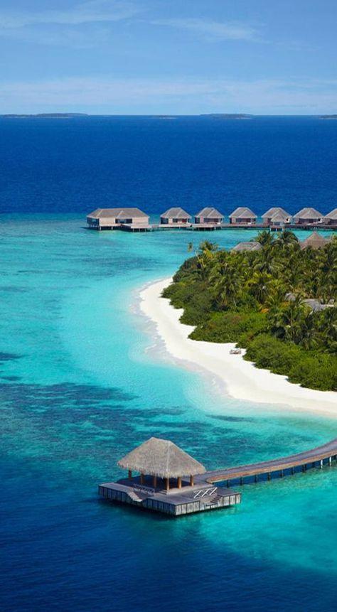 Visit And Best Time To Travel Maldives #maldives #travel A popular destination…