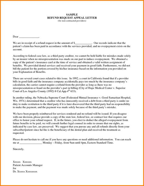 sample insurance appeal letter for authorization best business - good faith payment letter