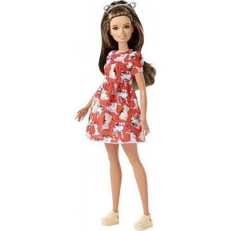 Fashionista #97 Petite Cat Ears Barbie New