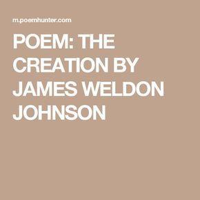 James Weldon Johnson Poems 1