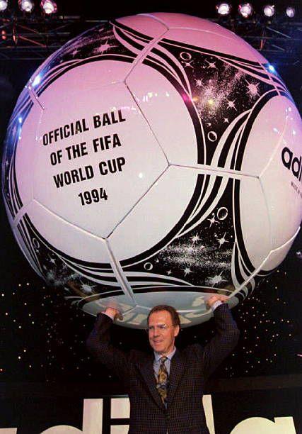 1994 World Cup Draw Franz Beckenbauer World Cup Draw World Cup German National Team
