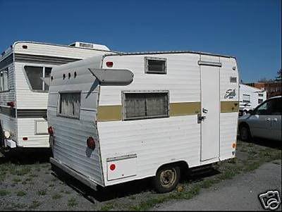 Vintage Shasta Camper Trailer