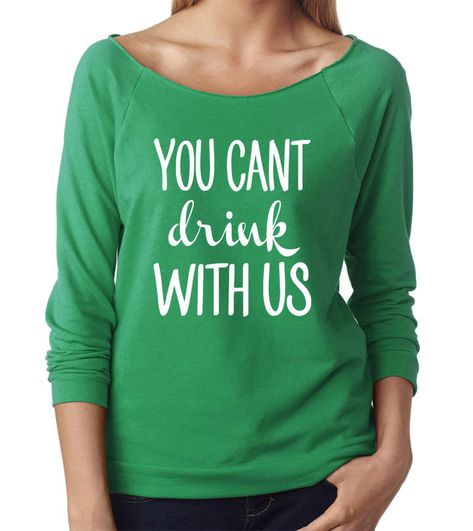 a06de289 Etsy You can't drink with us, St Patricks Day Shirt Women, St Patricks Day  Shirt Funny, Drinking Shirt #afflink
