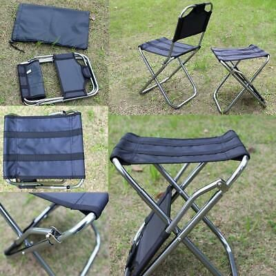Advertisement Ebay Portable Outdoor Folding Chair Aluminum Alloy Fishing Camping Chair Bbq Stool Us Outdoor Folding Chairs Camping Chair Folding Chair