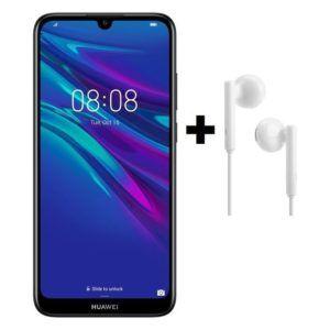 Huawei Y6 Prime 2019 32gb Modern Black Am115 In Earheadphone Huawei 32gb Samsung Galaxy Phone