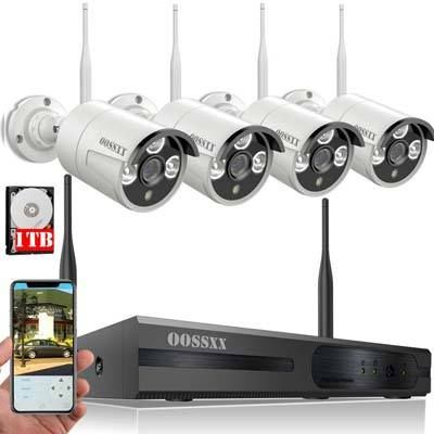 Top 10 Best Outdoor Wireless Security Camera System With Dvr In Reviews Wireless Security Camera System Wireless Home Security Systems Security Camera System